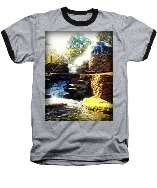 Finlay Park Fountain Baseball T-Shirt
