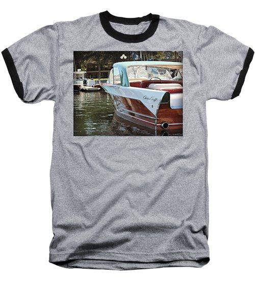 Finned Chris Craft Baseball T-Shirt