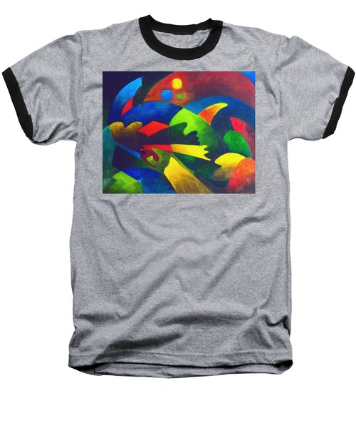Fins Baseball T-Shirt by Sally Trace