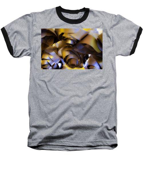 Fire And Steel Baseball T-Shirt