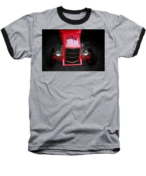 Hot Rod Baseball T-Shirt featuring the photograph Fire And Water by Aaron Berg