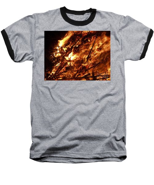 Fire Blaze Baseball T-Shirt