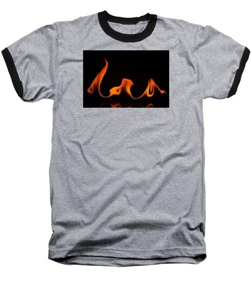 Fire Dance Baseball T-Shirt