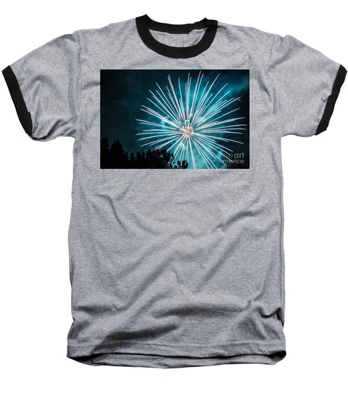 Fire Flower Baseball T-Shirt