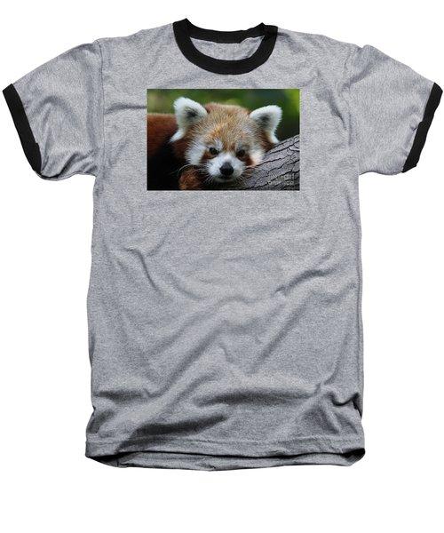 Baseball T-Shirt featuring the photograph Fire Fox by Judy Whitton