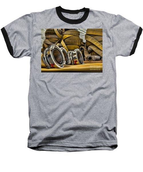 Fire Hoses Baseball T-Shirt