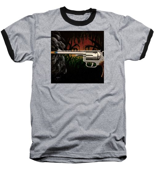 Fire In The Jungle Baseball T-Shirt by Jack Malloch