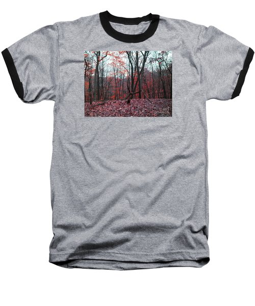 Fire In The Woodland Baseball T-Shirt