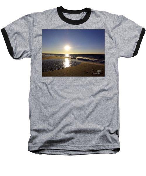 Fire Island Sunday Morning - 13 Baseball T-Shirt