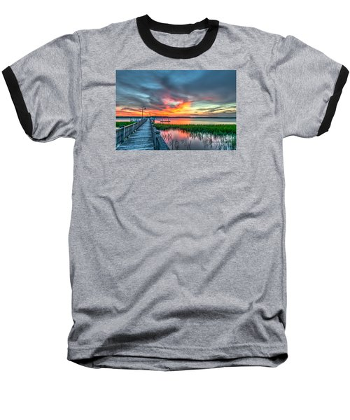 Fire Light Baseball T-Shirt