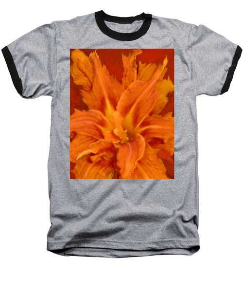 Fire Lily Baseball T-Shirt