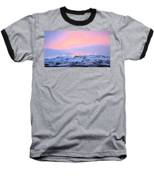 Fire On The Mountain Baseball T-Shirt