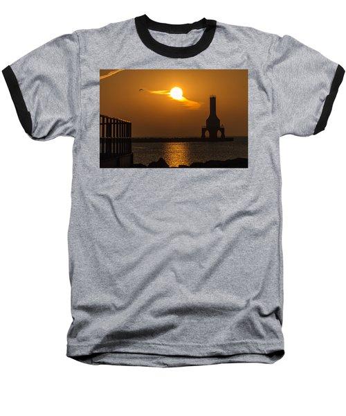 Fire Sky II Baseball T-Shirt