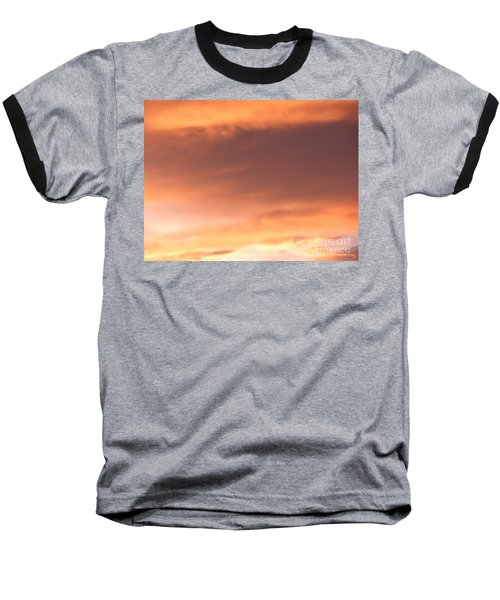 Fire Skyline Baseball T-Shirt