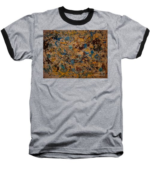 Fire Work Baseball T-Shirt