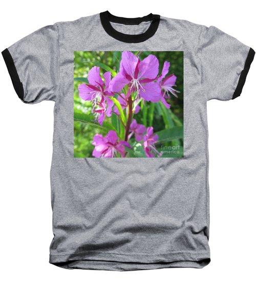 Fireweed 3 Baseball T-Shirt