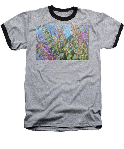 Baseball T-Shirt featuring the photograph Fireweed Number Six by Brian Boyle