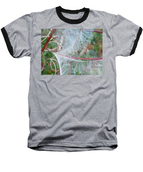 Fireweed Number One Baseball T-Shirt by Brian Boyle