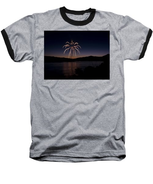 Baseball T-Shirt featuring the photograph Fireworks 11 by Sonya Lang