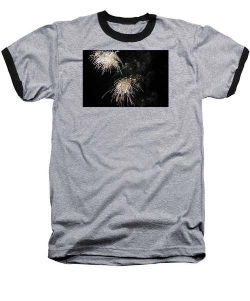 Baseball T-Shirt featuring the photograph Fireworks 3 by Susan  McMenamin
