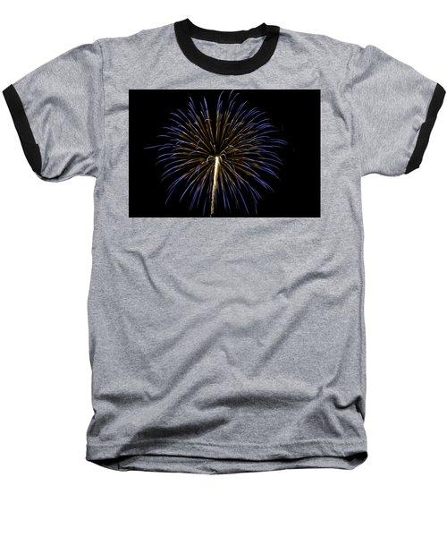 Fireworks Bursts Colors And Shapes 3 Baseball T-Shirt