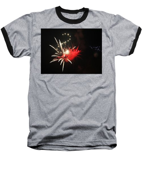 Baseball T-Shirt featuring the photograph Fireworks by Rowana Ray