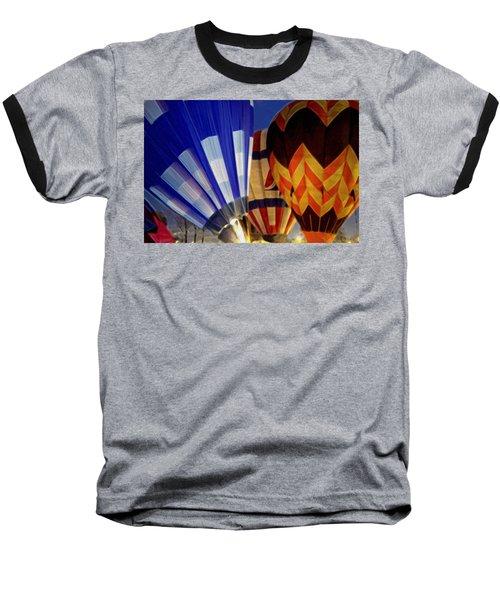 Firing Up Baseball T-Shirt by Kathy Bassett