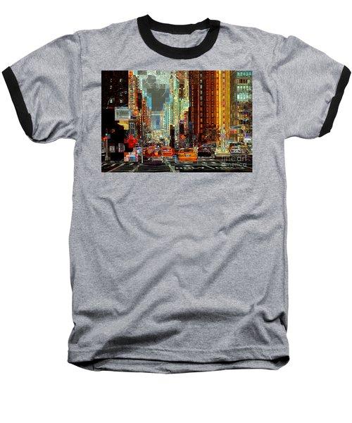 First Avenue - New York Ny Baseball T-Shirt
