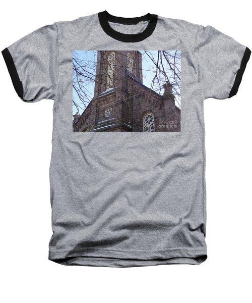 First Baptist Church Baseball T-Shirt