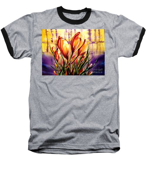 First Blooms Of Spring Baseball T-Shirt