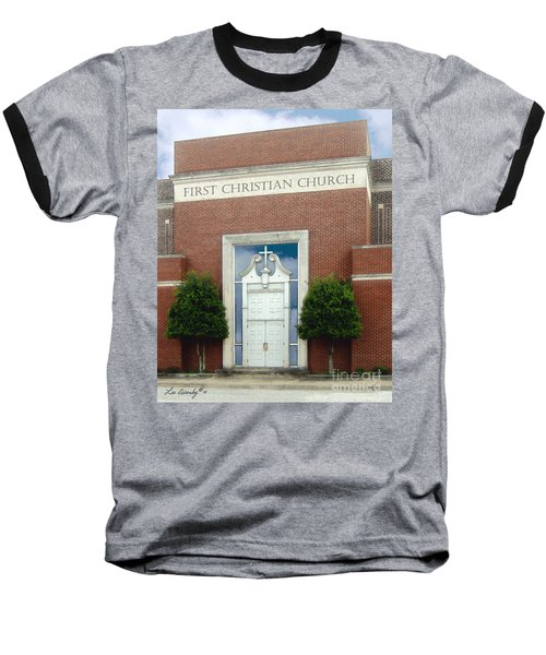 First Christian Church Baseball T-Shirt