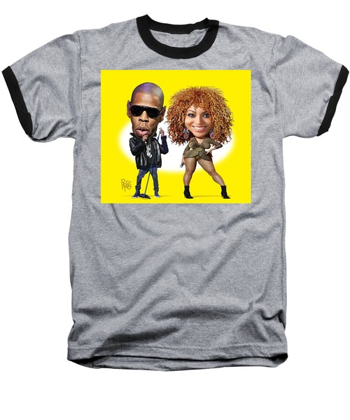 First Couple Baseball T-Shirt