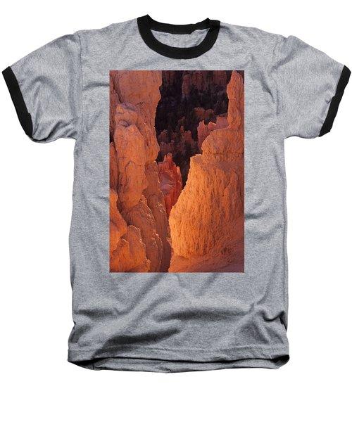 First Light On Hoodoos Baseball T-Shirt