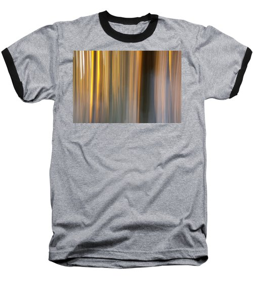 Baseball T-Shirt featuring the photograph First Snow In Sunset by Davorin Mance