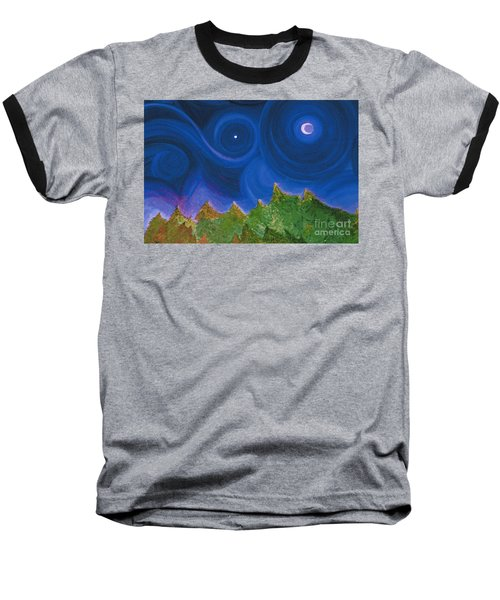 First Star Wish By Jrr Baseball T-Shirt