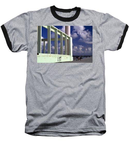 First Street Porch Baseball T-Shirt