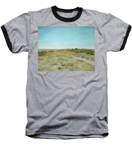 First Touch Of Autumn Baseball T-Shirt by William Merritt Chase