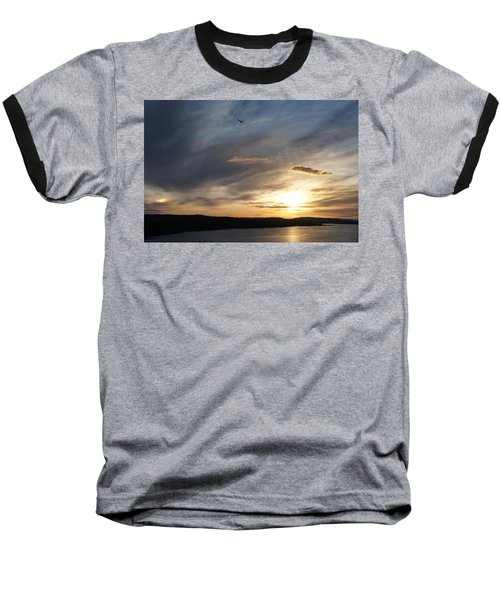 Firth Of Forth In The Sunset Baseball T-Shirt