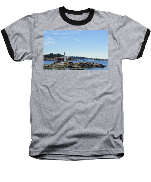 Fisgard Lighthouse Baseball T-Shirt