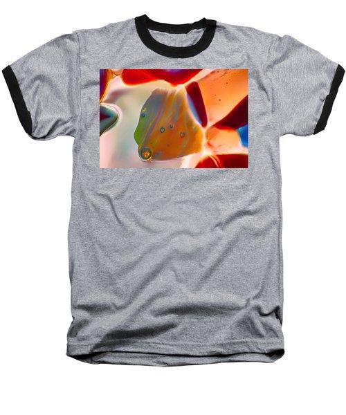 Fish Blowing Bubbles Baseball T-Shirt