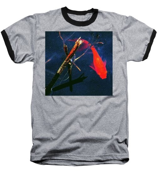 Baseball T-Shirt featuring the photograph Fish Bubble by Faith Williams