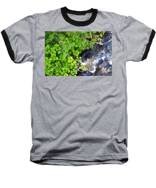 Fish Creek In Summer Baseball T-Shirt