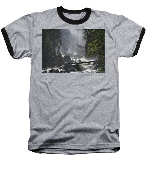 Baseball T-Shirt featuring the photograph Fish Creek Mist by Don Schwartz