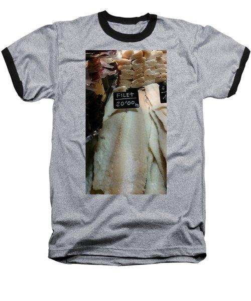 Fish Filets Baseball T-Shirt