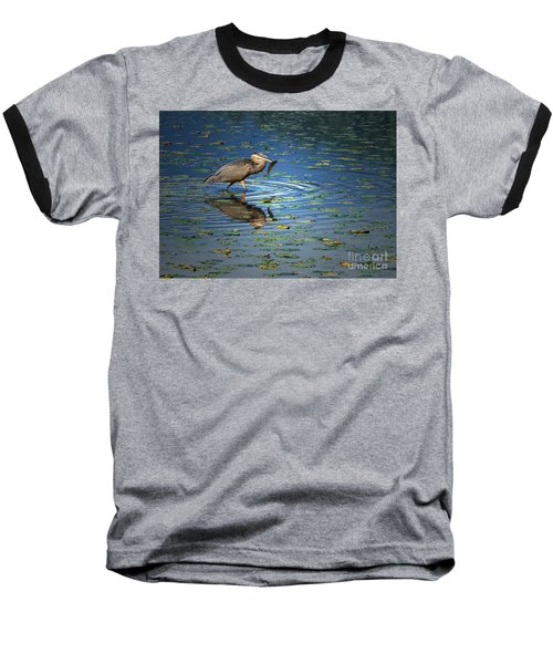 Fish For Dinner Baseball T-Shirt