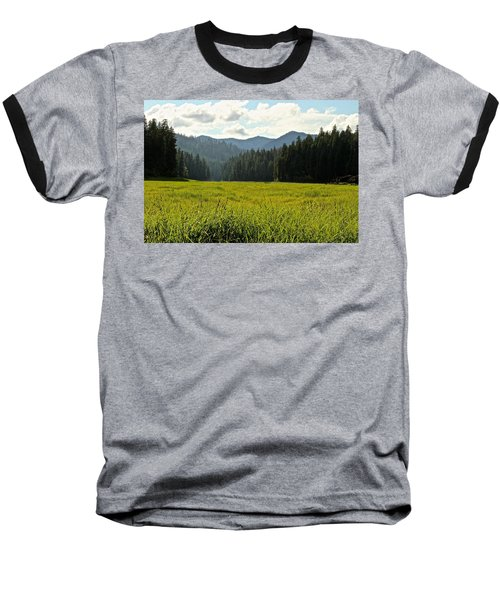 Fish Lake - Open Field Baseball T-Shirt