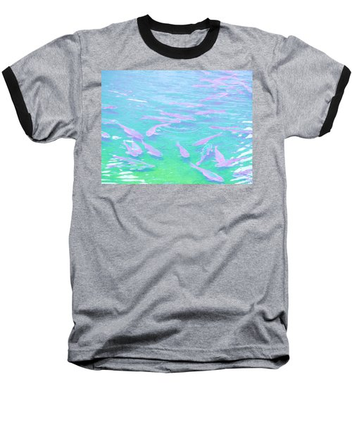 Baseball T-Shirt featuring the photograph Fish by Rachel Mirror