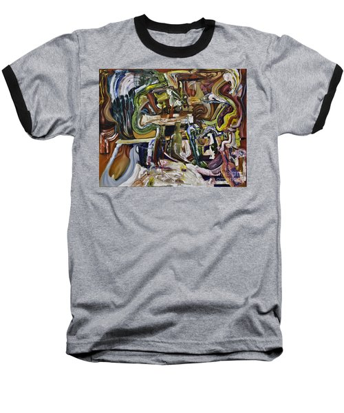 Fish Supper Baseball T-Shirt