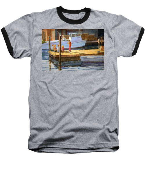 Fish Tales At Cortez Baseball T-Shirt
