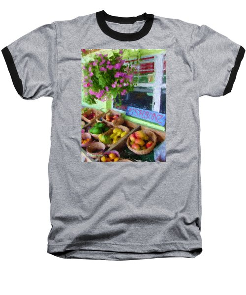 Da111 Fishbonz By Daniel Adams Baseball T-Shirt